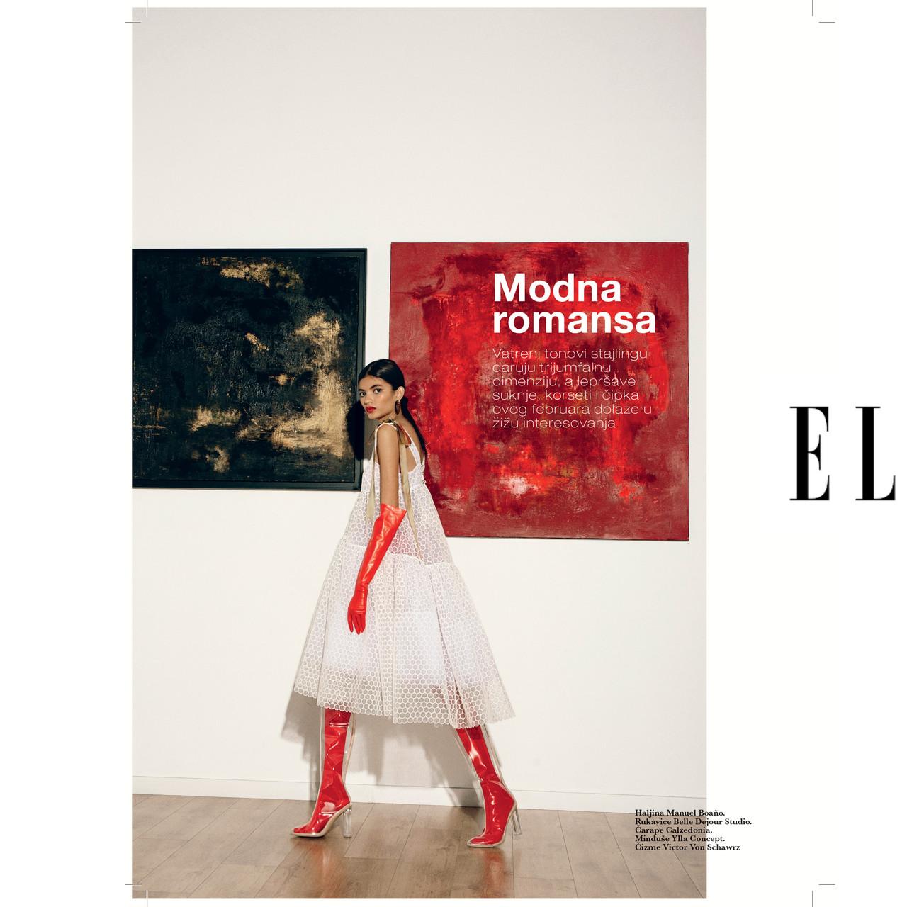 Elle Magazine Serbia. Feb'20 (Pag32)