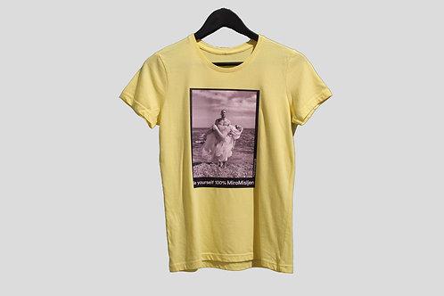 Miro Misljen - T-shirt Yellow