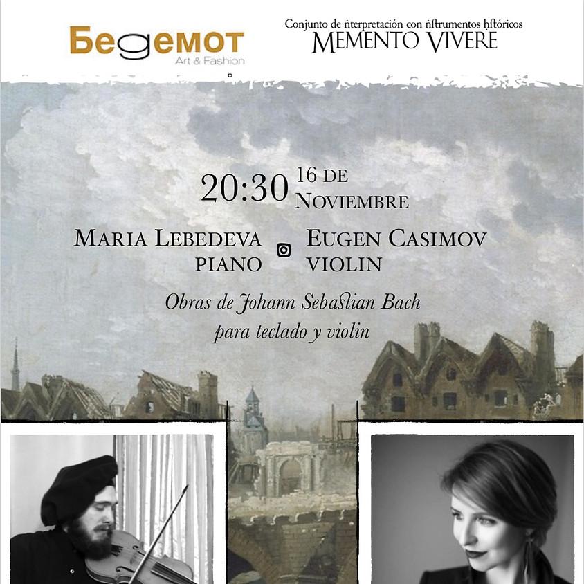 Obras de Johan Sebastian Bach para teclado y violín