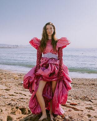 Miro Misljen Long Pink Dress.jpg