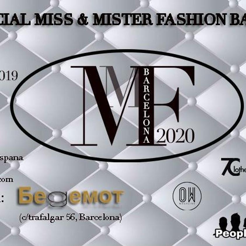 "Casting de ""Miss & Mister Fashion Barcelona 2020"""