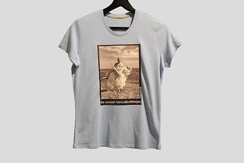 Miro Misljen - T-shirt Blue