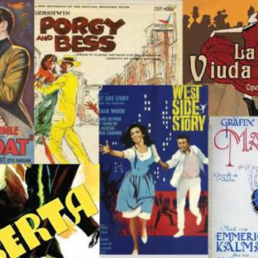 Opereta y Musical. Las melodías más conocidas