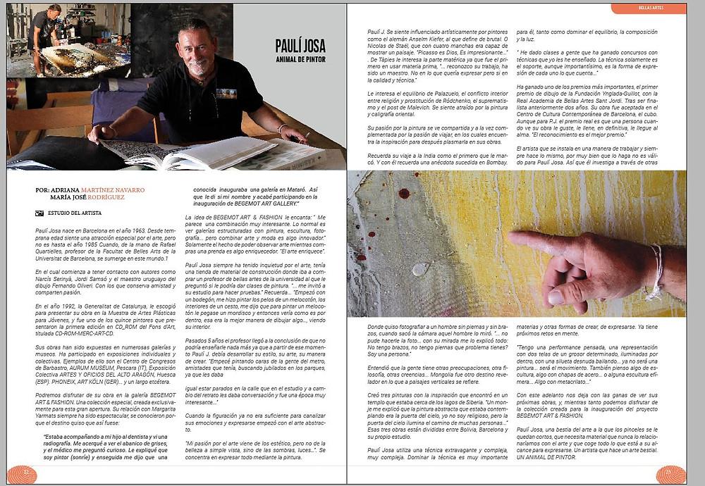 Artepoli. Entrevista a Pauli Josa