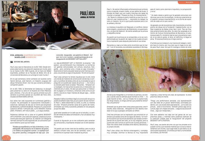 Entrevista a Pauli Josa