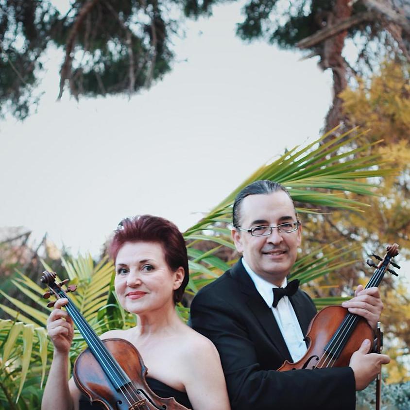 Moz-Art para dos violines