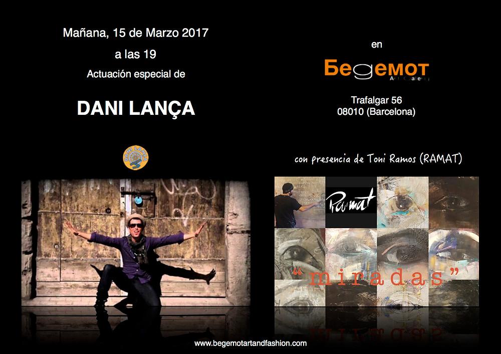 Concierto Dani Lança en Begemot Art & Fashion