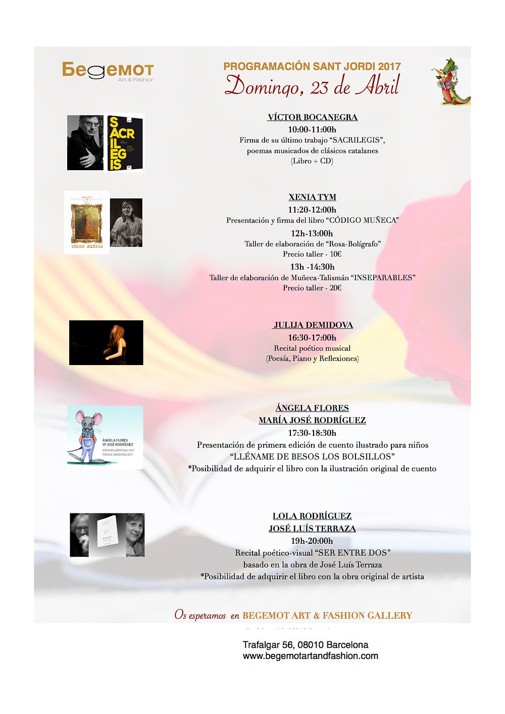 Programación Sant Jordi 2017