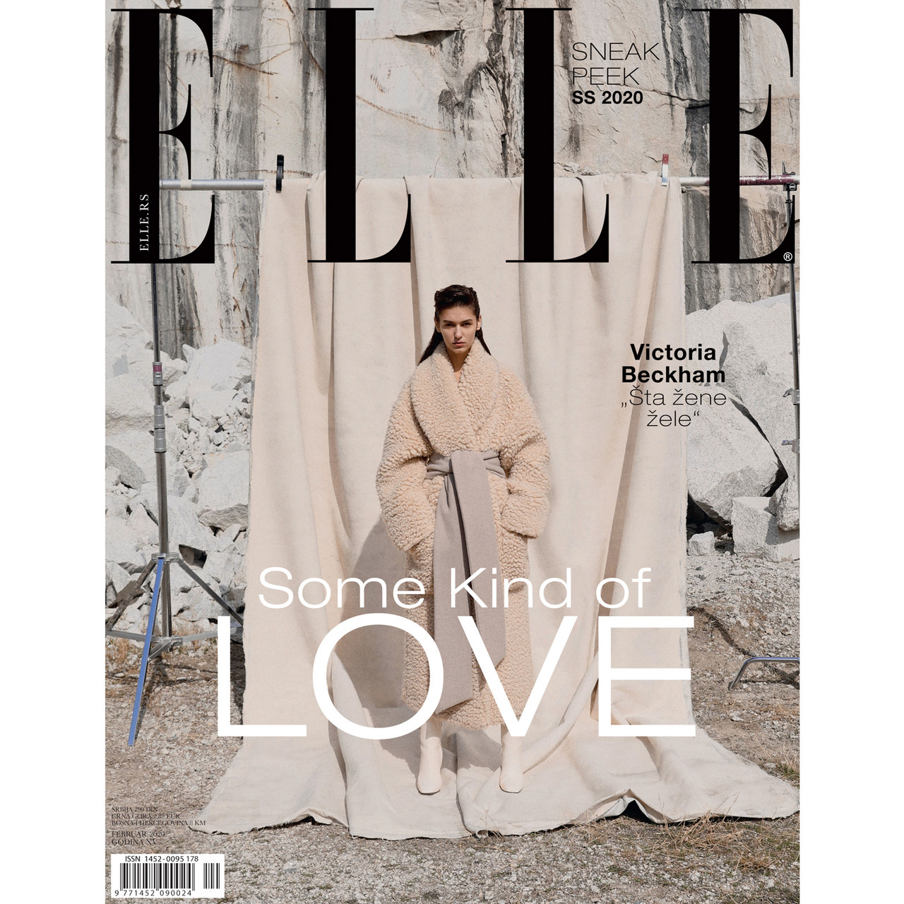 Elle Magazine Serbia. Feb'20 (Cover)