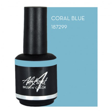 Coral Blue 15ml | Abstract Brush N Color
