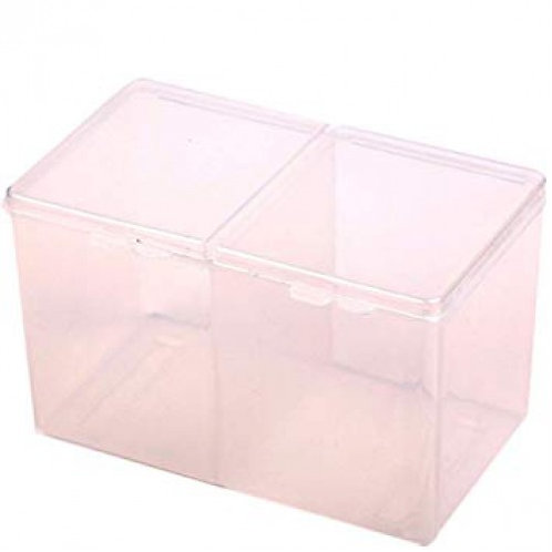 Nail Wipes Organiser Box pink