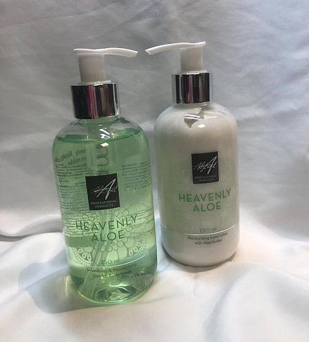 Heavenly Aloe  250 ml Handlotion & soap| Abstract