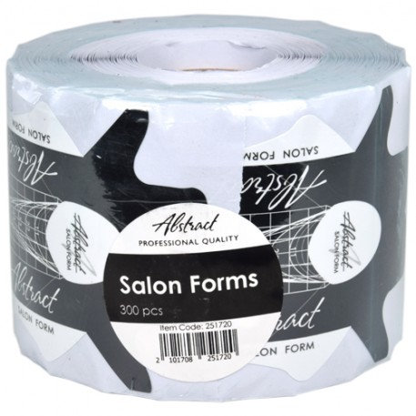 Salon Forms (300pcs/roll) | Abstract