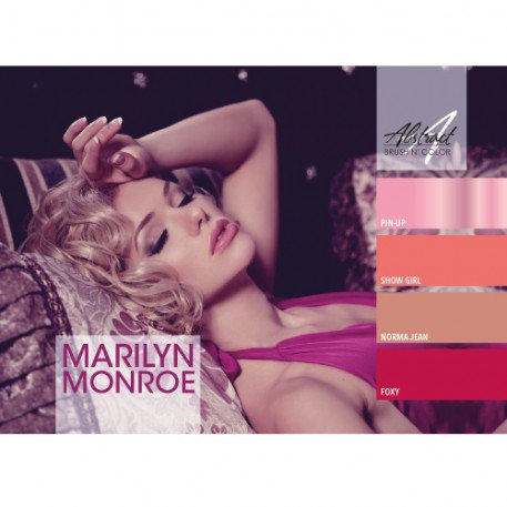 Marilyn Monroe Collection | Abstract Brush N Color
