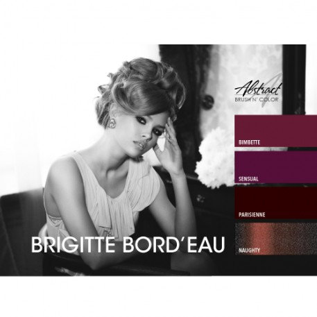 Brigitte Bord'eau Collection | Abstract Brush N Color