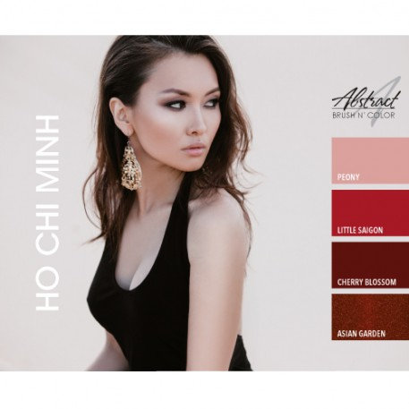 Ho Chi Minh Collection | Abstract Brush N Color