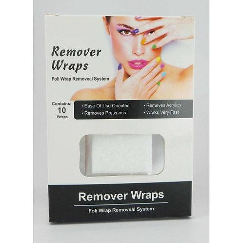 Soak Off Remover Wraps 10 stuks Gelish