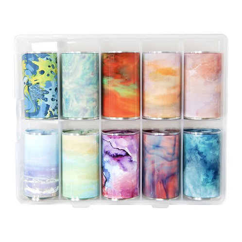 Transferfoil box collection 8 Liquid ski/ Abstract