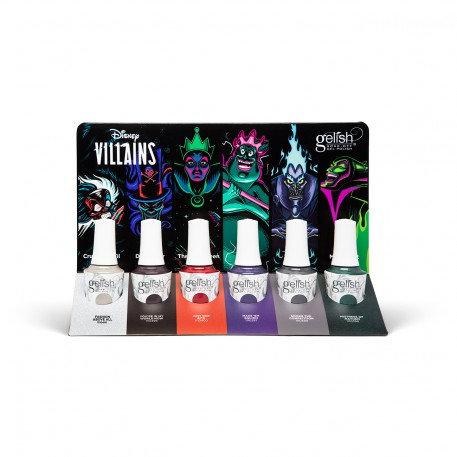 Disney Villains 6pcs/display | Gelish