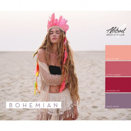 Bohemian Collection | Abstract Brush N' Color