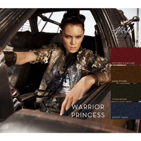 Warrior Princess Collection | Abstract Brush N Color