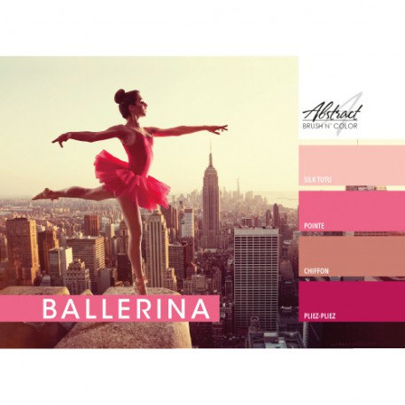 Ballerina Collection | Abstract Brush N Color