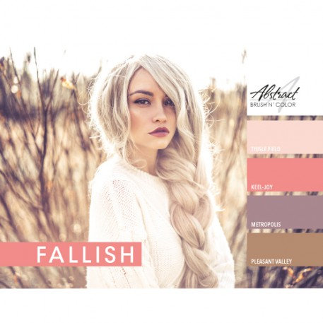 Fallish Collection | Abstract Brush N Color