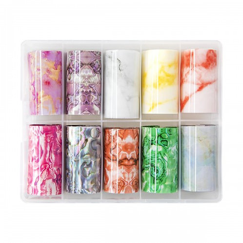Transfer foil box collection marble 3