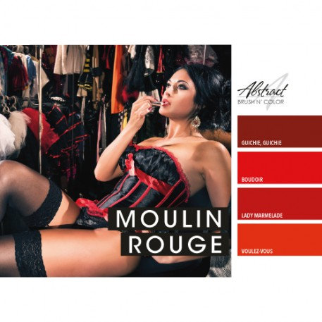 Moulin Rouge Collection | Abstract Brush N Color