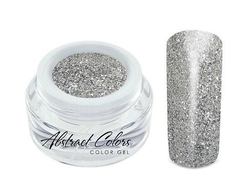 Abstract colorgel 5 ml Glitter Silver GLT20