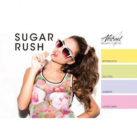 Sugar Rush Collection | Abstract Brush N Color