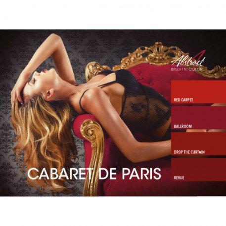 Cabaret De Paris Collection | Abstract Brush N Color