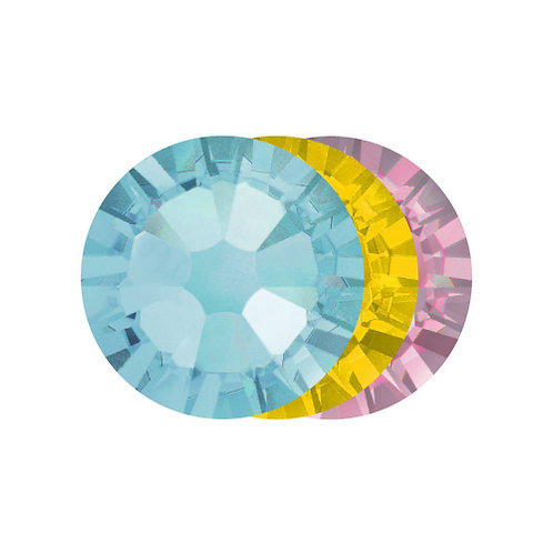 Crystals AQUA MIX SS3 (50 stuks) | Abstract