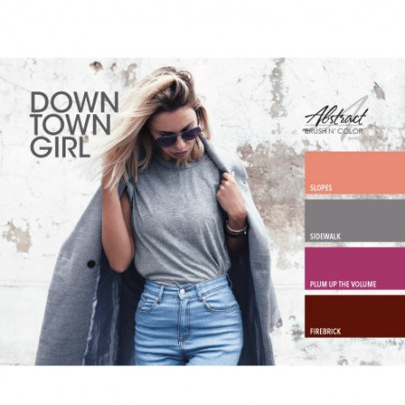 Downtown Girl Collection | Abstract