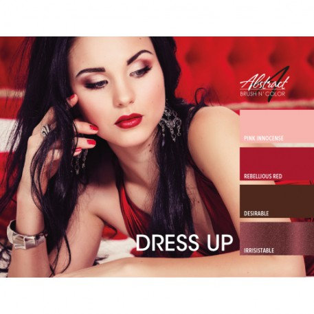 Dress Up Collection | Abstract Brush N Color