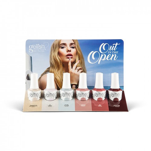 Out In The Open 6pcs Display | Gelish