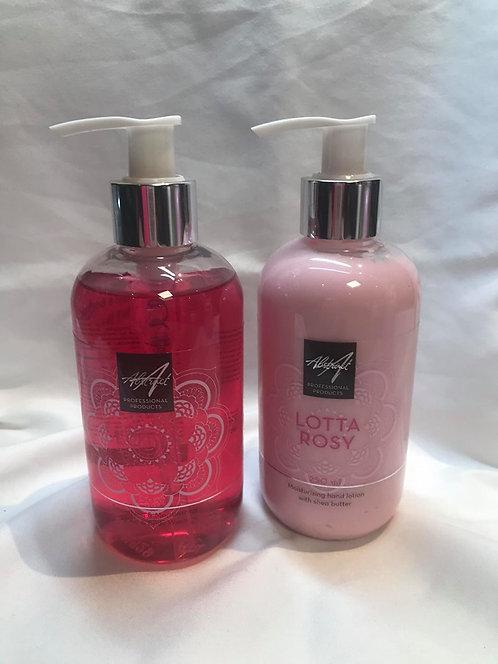 Lotta Rosy 250ml Handlotion & soap | Abstract