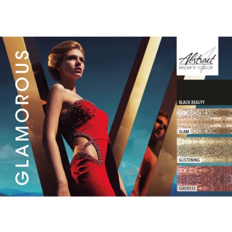 Glamorous Collection | Abstract Brush N Color