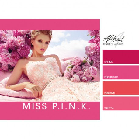 Miss Pink Collection | Abstract Brush N Color