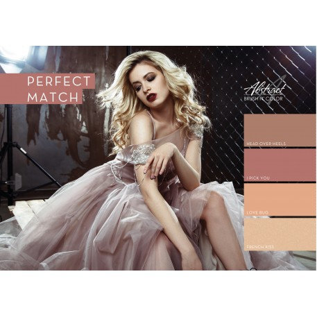 Perfect Match Collection | Abstract Brush N Color