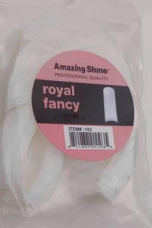 Royal Fancy Nail Tip refill nr 8 - Naturel (50 stu