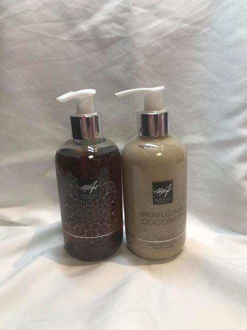 Indulging coconut 250 ml Handlotion & soap| Abstract