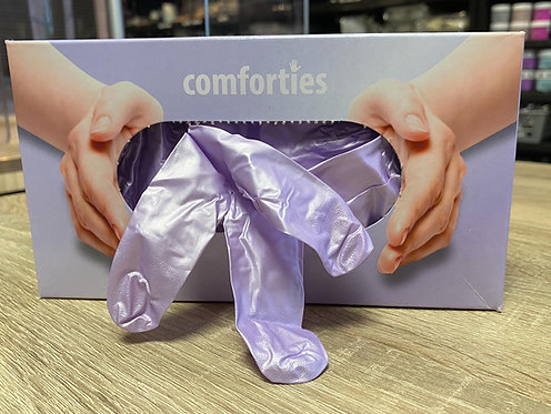 Handschoenen paars glamour M| Comforties