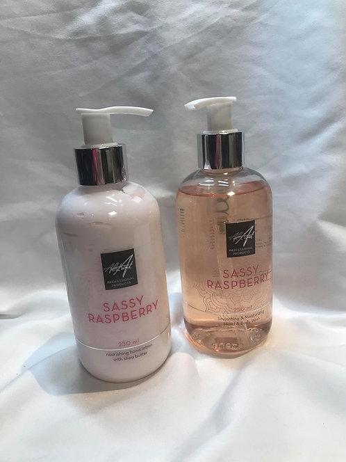 Sassy Raspberry 250 ml Handlotion & soap| Abstract
