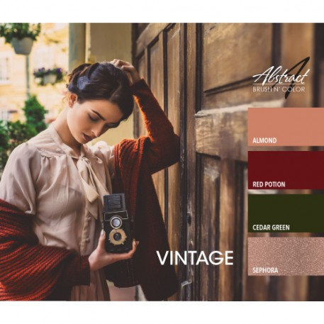 Vintage Collection | Abstract Brush N Color