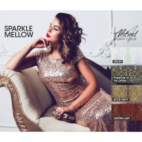 Sparkle Mellow Collection | Abstract Brush N Color