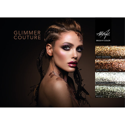 Glimmer Couture Brush N color 4x 15 ml | Abstract
