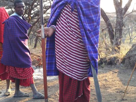 Masai Boys Dance