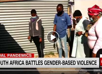CNN covers dual pandemics of COVID-19 and Gender-Based Violence