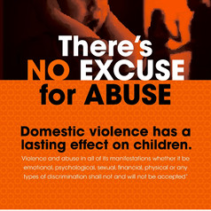 No excuse for abuse (children)